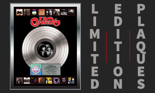 Limited Edition Plaques